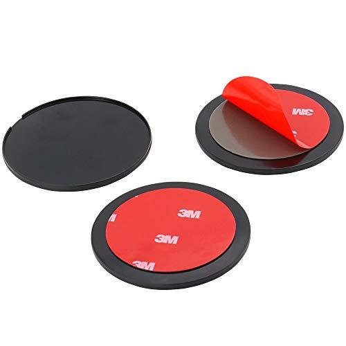 70mm ダッシュボード 吸盤 ベース ダッシュボード取り付け小型吸盤ホルダー用転換ディスク 3M粘着テープ付き