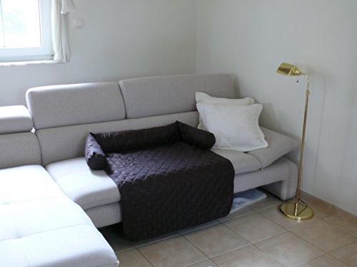 Artur Soja Leo Hundebett Couch M 70 x 90cm BRAUN Sesselschutz Sofaschutz COUCHPROTECT