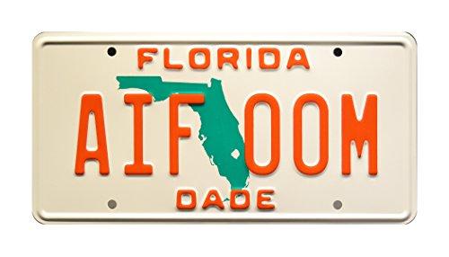 Celebrity Machines Miami Vice | AIF 00M | Metallkennzeichen