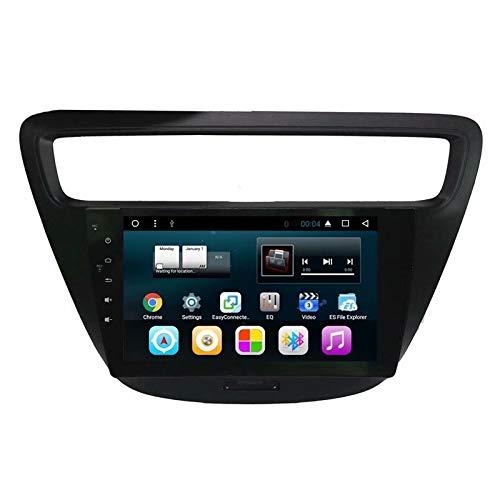 TOPNAVI 9 Pouce Android 7.1 Auto Stéréo pour Chevrolet Lova RV 2015 2016 2017 2018 Voiture Radio Navigation avec 1 Go de RAM 16 Go ROM WiFi 3G RDS Lien Miroir FM AM BT Audio Vidéo