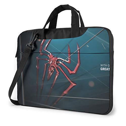 SPI-Der-Man 13 14 15.6 Inch Laptop Sleeve Case,Waterproof Slim Computer Carry Case with Strap Messenger Laptop Shoulder Bag