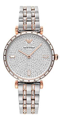 Reloj Emporio Armani para mujer, pulsera de acero