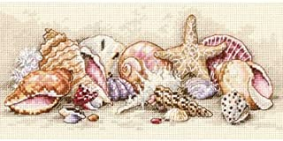 Dimensions Gold Petite Seashell Treasures Counted Cross Stitch Kit SO12