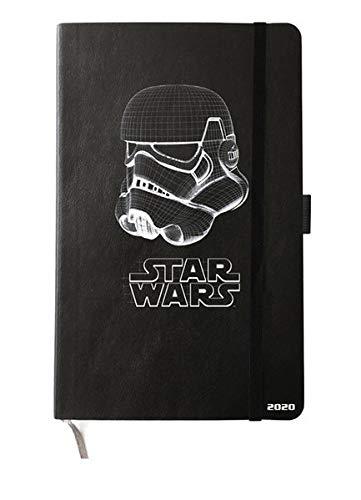 Star Wars Kombitimer mittel. Taschenkalender 2020. Wochenkalendarium. gebunden. Format 21 x 26 cm