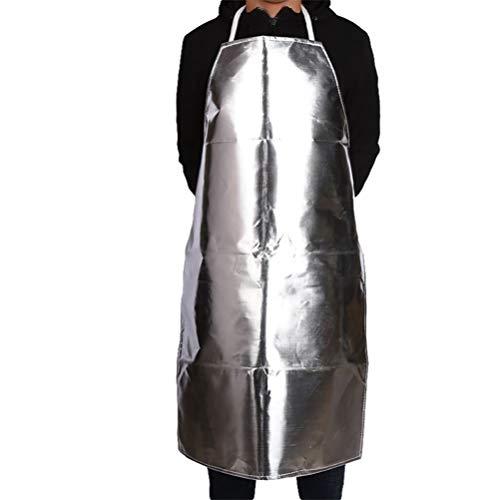 Hemoton Tablier Résistant à La Chaleur Tablier de Papier D'aluminium Tablier de Travail à Haute Température pour Cuisine Maison