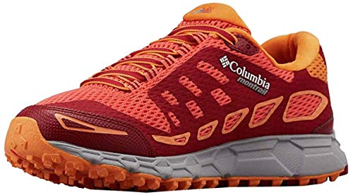 Columbia Bajada III, Zapatillas de Running para Asfalto Mujer, Naranja (Zing, Beet 864), 43 EU