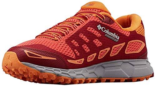 Columbia Bajada III, Zapatillas de Running para Asfalto para Mujer, Naranja (Zing, Beet 864), 38 EU