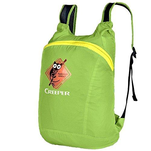 Sincere® Package / Sacs à dos / portable épaule léger sac / Ultralight / pliage sac levage alpinisme / petit sac à dos d'équitation / sac peau verte 20L