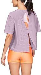 Under Armour Camiseta Deportiva de  Manga Corta para Mujer