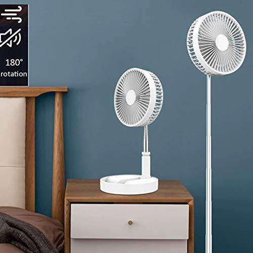 Plafondventilatoren, USB-landing, kleine ventilator, intrekbaar, draagbaar mini-opladen, extreem stil, grote windventilator, handheld, desktop, landing