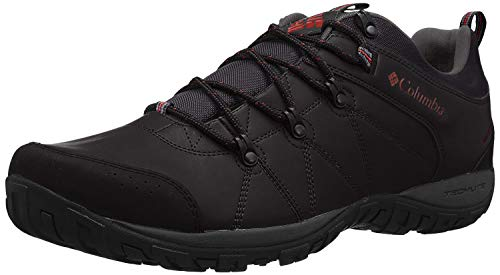 Columbia Men's Peakfreak Venture Waterproof Hiking Shoe, Black, Gypsy, 10 D US