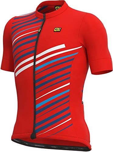 Alé Cycling Solid Flash Kurzarm Trikot Herren red Größe M 2021 Radtrikot kurzärmlig