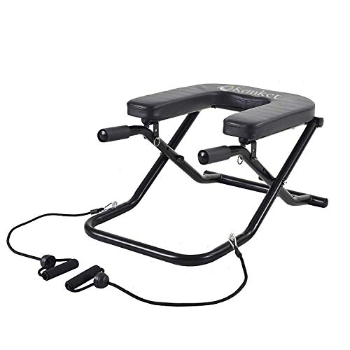 Kemket Inversion Bench, Bench Workout Manual, Fitness Yoga Chair