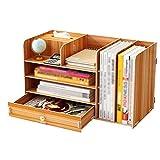GAOLILI Aktenschränke Aktenschrank Einfache Bücherregal Mehrschichtige Ordner Aufbewahrungsbox...