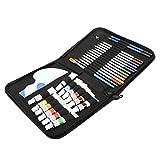 Juego de lápices de colores premium seguros y prácticos para principiantes y artistas profesionales