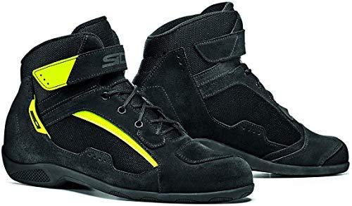 SIDI Duna Stiefel, schwarz/neongelb, Größe 38