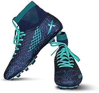 Vector X Jaguar Football Shoes (Navy-Sea Green)