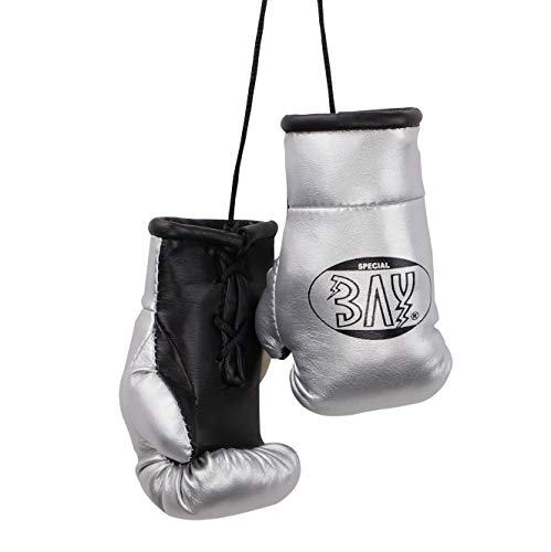 BAY® Mini Boxhandschuhe Paar (Silber)