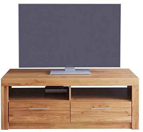 Möbeldesign Team 2000 TV-Teil Fernseh Tisch Lowboard Rack wildeiche teilmassiv, geölt 3442-15