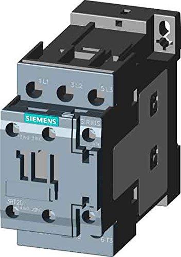 Siemens 3RT2023-1AC20, 3 Pole, 9 Amps, 24VAC Coil, IEC Rated Contactors
