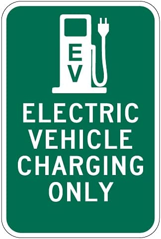 STOPSignsAndMore - Electric Vehicle Virginia Beach Mall Charging No Sign Max 84% OFF Only Arro