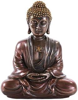 Pacific Giftware Shakyamuni Gautama Buddha Meditation Desktop Figurine Statue 3.15 Inch