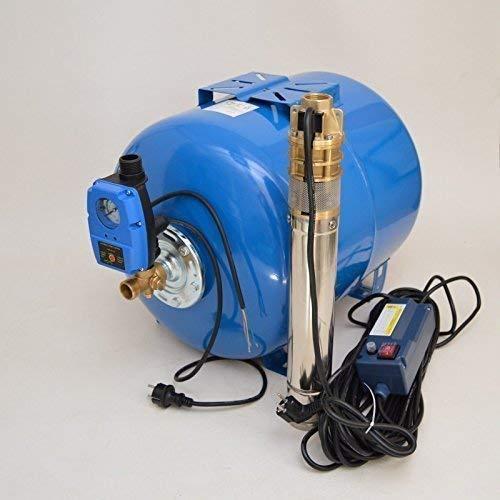Huiswaterpomp 80L roestvrij staal diepe bronpomp 3