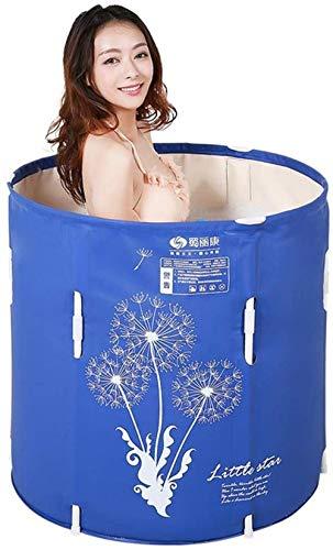 QZz Home® Bañera plegable Bañera Adulto Bañera Más Gruesa Inflable Bañera Mejorable Bañera Infantil Bañera