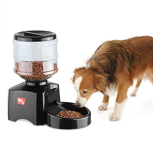 Anself Alimentatore Automatico Pet per Gatto Cane 5.5 L...