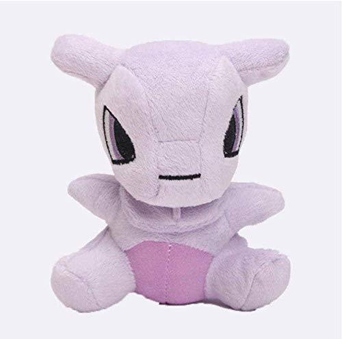 YUNZHI Plush Toys, Mimikyu Raichu Lapras Mew Dragonite Charmander Ditto Oddish Togepi Jigglypuff Mudkip Sylveon Snorlax Stuffed Dolls 15 cm