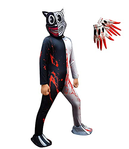 Kids Siren Head Costume Boys Cartoon Cat Jumpsuits Girls Scary Game Outfits Size 10 Kids Scary Game Outfits Cosplay…