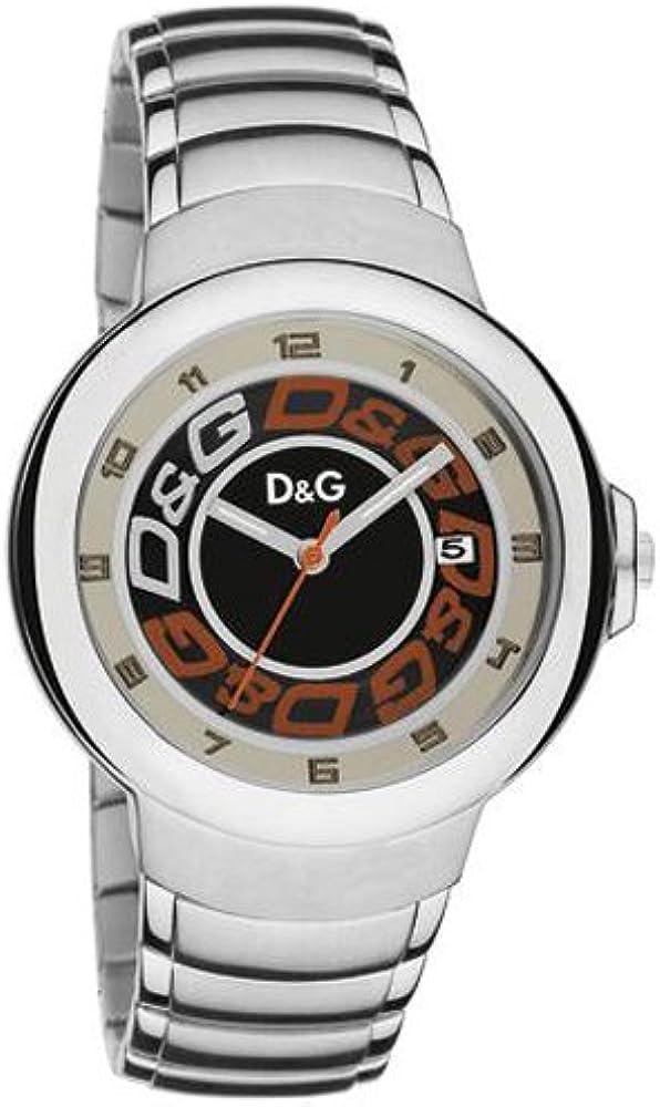Dolce & gabbana, orologio da uomo, in acciaio inossidabile DW0248