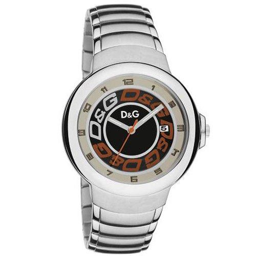 Dolce & Gabbana dw0248–Orologio da uomo, cinturino in acciaio inox