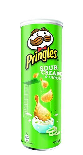 Pringles Sour Cream & Onion (Pack of 3x 165g Tub)