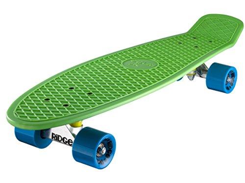 Ridge Skateboard Big Brother Nickel 69 cm Mini Cruiser, grün/blau