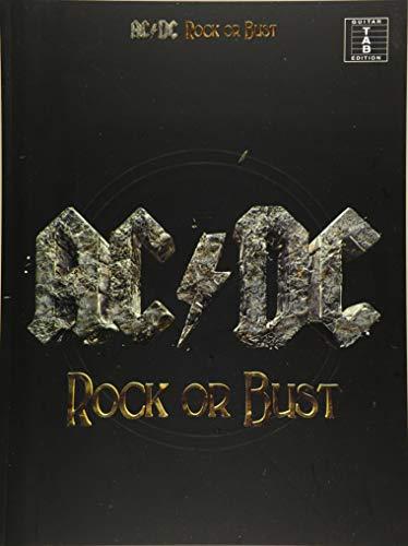 AC/DC Rock Or Bust Guitar TAB Book