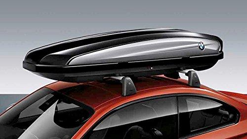 Originele BMW-dakkoffer skibox 420 liter - middelgrote maat zwart
