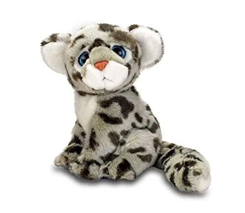 Pelúcia Tigre Branco Animal Planet 15 Cm Fun