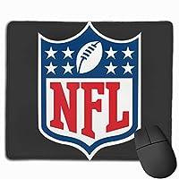 ナショナルフットボールリーグのロゴ マウスパッド 25×30 大判 ノンスリップ 防水 ゲーミング おしゃれ マウスの精密度を上がる