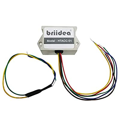 Add-A-Wire Accessory, Briidea Common Wire Kit for All 24VAC Thermostats (4 to 5 wires), White