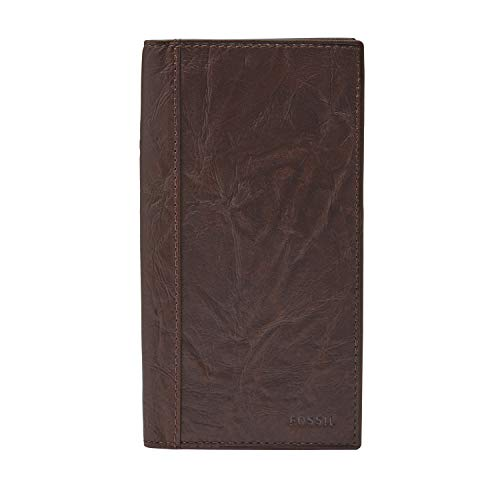 Fossil Men's Execufold Wallet, Neel- Brown, One Size