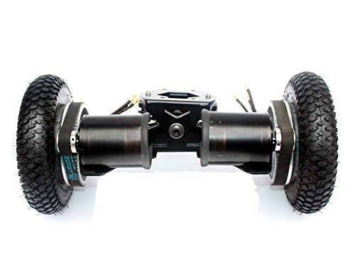 L-faster 4 Wheels Off Road Skateboard 11 Inch Truck with 8' Inflation Tyre Motorized Gas Longboard Truck Outdoor Extreme Sport Surfboard (Drive)