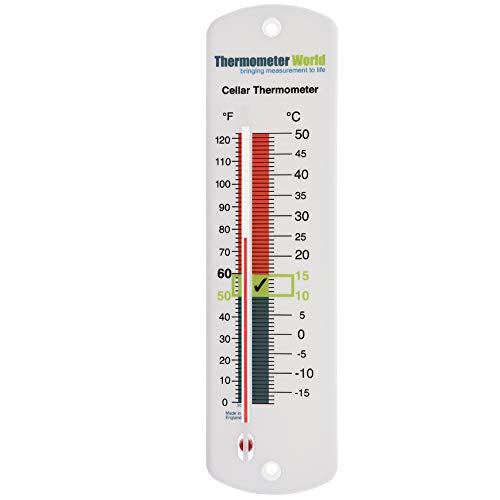Thermometer World Thermomètre pour cave à bière ou vin
