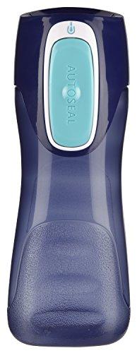 Contigo 2001147 Autoseal Trekker Kids Water Bottle, 2-Pack, Granny Smith & Nautical
