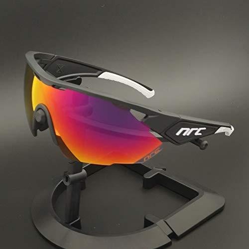 Weizy Gran Oferta de Gafas de Ciclismo fotocromáticas polarizadas for Hombre y Mujer (Color : NRXZ 01, Color de Las Lentes : Photochromic 3lens)