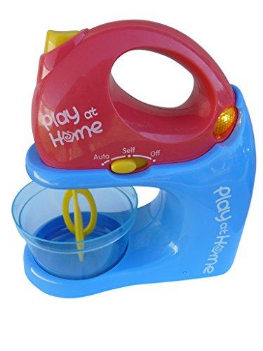 Spielzeug Mixer-Set, A183, 3 TLG. Set für die kleinen Back- und Kochexperten, mit Sound und Licht, Geschenk-Idee für Jungen und Mädchen für Weihnachten und zum Geburtstag, Geburtstags-Geschenk
