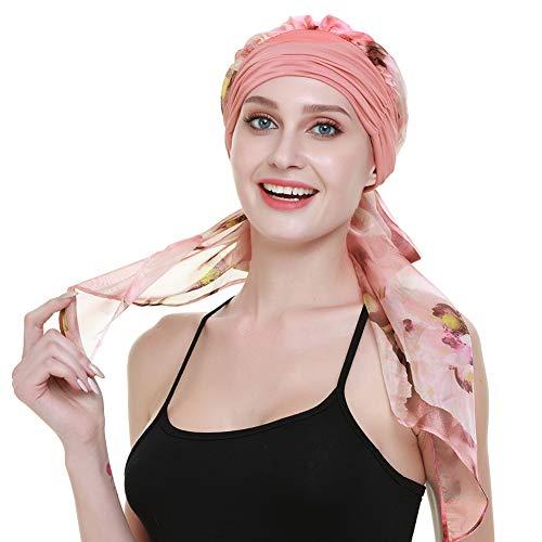 FocusCare Elegante quimio Headwraps Sombreros para Mujeres Regalos mé