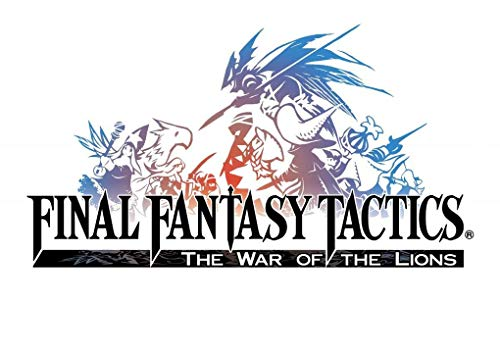 FINAL Fantasy Tactics Logo – Imported Video Game Wall Poster Print - 43cm x 61cm / 17 Inches x 24 Inches A2