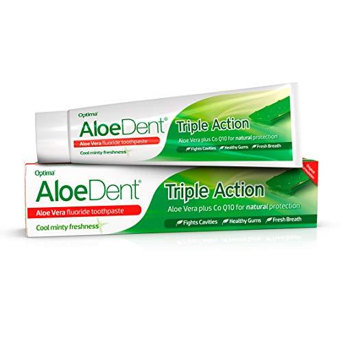 Dentifrice Aloedent au fluor - 100 ml