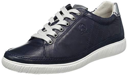 Gabor Shoes Comfort Basic, Sneakers Basses Femme, Bleu (Bluette/Argento 66), 38 EU